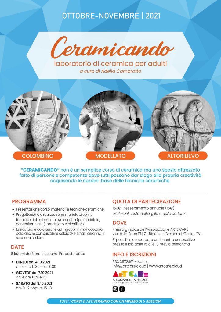 CERMICANDO-laboratorio di ceramica per adulti